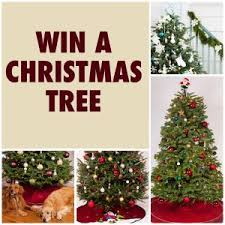 Here is an offer where you can enter to win 1 of 3 Green Valley Christmas  Trees. This one will end on November 5, 2017 at 11:59pm Pacific Time!