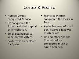 Hernan Cortes And Francisco Pizarro Venn Diagram Age Of Exploration Unit Study Guide Christopher Columbus Was