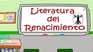 literatura del renacimiento you