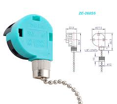 ze 268s6 ze 208s6 switch 3 speed pull chain control fan switch 4 ze 268s6 ze 208s6 switch 3 speed pull chain control fan switch 4 wire replacement switch for zing ear ceiling fan appliances lamps by ketofa