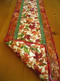 357 best Table Runners images on Pinterest   Projects, Carpets and ... & fall table runner   Autumn Blaze Quilted Table Runner Adamdwight.com