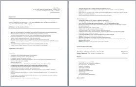 Business Administration Cv Sample My College Scout