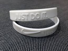 NIKE JUST DO IT. New baller <b>band wristband bracelet</b>: color White ...
