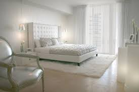 White room ideas Grey As With The Previous Bedroom Example This Modern Room Brings In The Geometry Within The Duvet Cover Tufted Headboard And Furniture Shapes But This Room Trendir White Room Interiors 25 Design Ideas For The Color Of Light