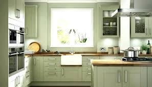 dark green painted kitchen cabinets. Sage Green Kitchen Cabinets Painted Cabinet Olive . Dark