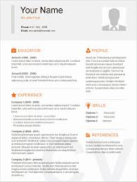 Easy Resume Example Best Of Simple Resume Template 46 Free Samples