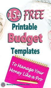 Budget Planners Free Budget Planner 15 Free Printable Monthly Budget Planner