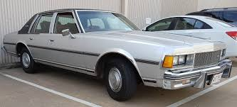 1978 Chevrolet Caprice Sedan 350 V8 Rhd in Australia from new ...