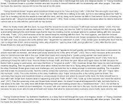 analysis essay on young goodman brown madilu designs analysis essay on young goodman brown