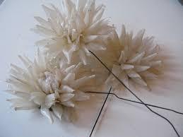 Wax Paper Flower Wax Paper Flowers Sew Nancy Flickr