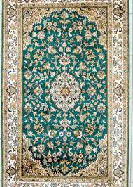 fl design pure silk bedroom rug size 5 by 3 handmade and hand knotted
