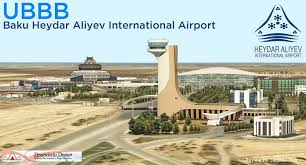 Scenery Review Ubbb Baku Heydar Aliyev Airport City By