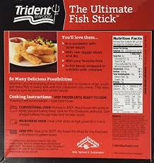 trident the ultimate fish stick 15 oz frozen amazon grocery gourmet food
