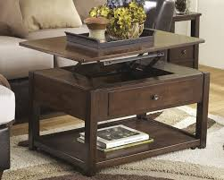design marion contemporary cocktail table lift top by ashley
