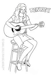 Coloring Pages Americanrl Doll Coloring Sheets Pages Book