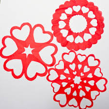 Heart Pattern Interesting Valentine Heart Snowflake Patterns Symmetry In Snowflakes Aunt