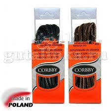 <b>CORBBY Шнурки 120см</b> круглые толстые с пропиткой черные ...