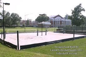 MTJ Sports  Sand Volleyball CourtsBackyard Beach Volleyball Court