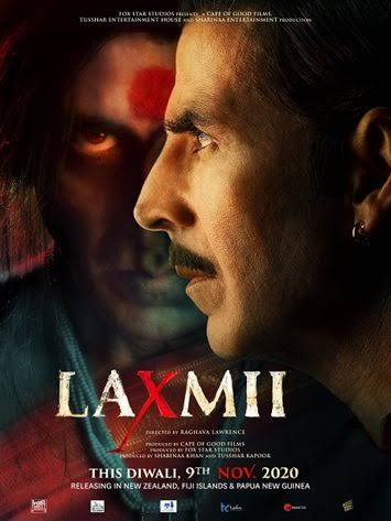 Laxmii (2020) Hindi Movie 720p HDRip x264 ESubs 1.2GB Free Download