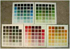 Richards Paint Color Chart Richards Paint Highland Landscape Painting By L Richards