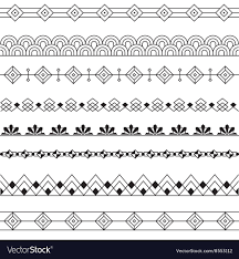 Art Deco Border Designs Art Deco Borders Style Line Design Variable Line