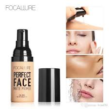 focallure brand face matt primer natural makeup foundation makeup base skin oil control cosmetic face base cosmetics dhl fa53 best liquid foundation