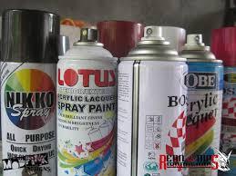 Nikko Spray Paint Color Chart Nikko Spray Paint Colors