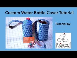 Tutorial #2 - How to sew a custom water bottle cover - YouTube & Tutorial #2 - How to sew a custom water bottle cover Adamdwight.com
