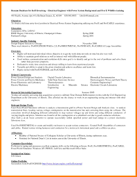 Entry Level Electrical Engineer Resume Famous Photos Engineering