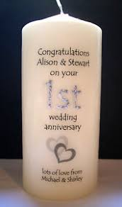 first wedding anniversary gift husband