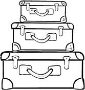 Small Picture Suitcase to Travel coloring page Free Printable Coloring Pages