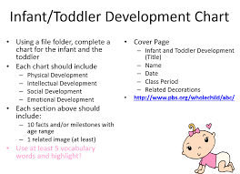 Two Year Old Development Chart Infant Toddler Development Activity Just Facs