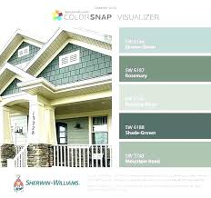 Sherwin Williams Color Chart For Exterior Paint Sherwin Williams Exterior Color Cooksscountry Com