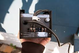 image of bottom landscape lighting transformer