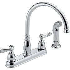 Double Handle Kitchen Faucet Double Handle Kitchen Faucets Kitchen The Home Depot