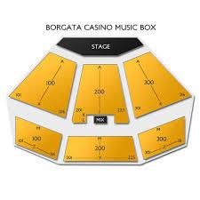 Borgata Venue Seating Chart Borgata Casino Music Box Tickets