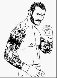 Rey Mysterio Mask Coloring Pages Tingamedaycom