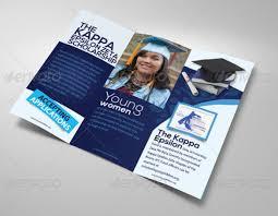 tri fold school brochure template educational brochure templates ender realtypark co