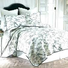blue bedding sets duvet french toile and curtains