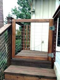 gate for deck stairs outdoor porch gates home depot how to bu outdoor gate for deck
