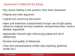 ethics governance lecture introduction to ethics governance assessment criteria for the essay 8 harvard referencing style continued
