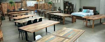 round timber dining tables table fantastic reclaimed recycled furniture rou