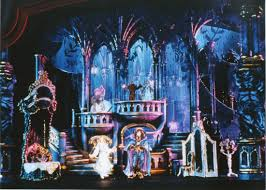 Beauty And The Beast Musical Set Design Original Broadway Model Palace Theatre Nyc Beauty The