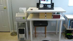 diy standing desk cinder block. Perfect Desk DIY Standing Desk On Top Of With Diy Cinder Block D