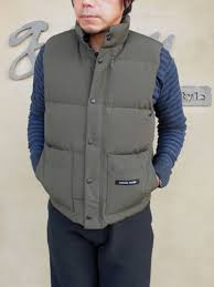 CANADA GOOSE country agency model down vest WINDSOR VEST (old FREESTYLE VEST)  free-style best Canada