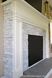 as for the faux firebox i was inspired by this log front fireplace insert by pepper design blog check it out and you might be able to visualize it a