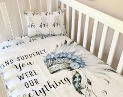 Dream Catcher Baby Bedding Indian Crib Bedding Etsy 16