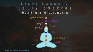 Alchemy Of Light Healing Light Language 5d 12 Chakras Healing And Balancing