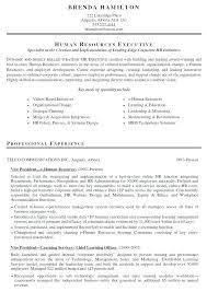 Human Resource Resume Samples Nfcnbarroom Com