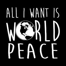 Bildergebnis für world peace calligraphy